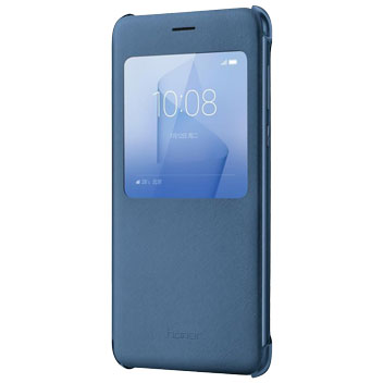 Official Huawei Honor 8 View Flip Fodral - Blå