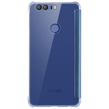 Official Huawei Honor 8 View Flip Case - Blue