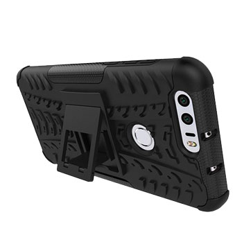 ArmourDillo Huawei Honor 8 Tough Case - Black