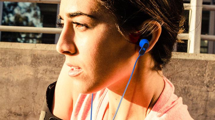 JBL Reflect Aware MFi Noise Reduction Lightning Earphones - Black