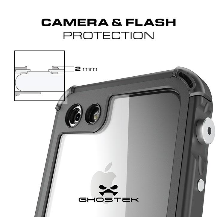 ghostek atomic 3 0 iphone 7 waterproof tough case black 7 Tap wake option