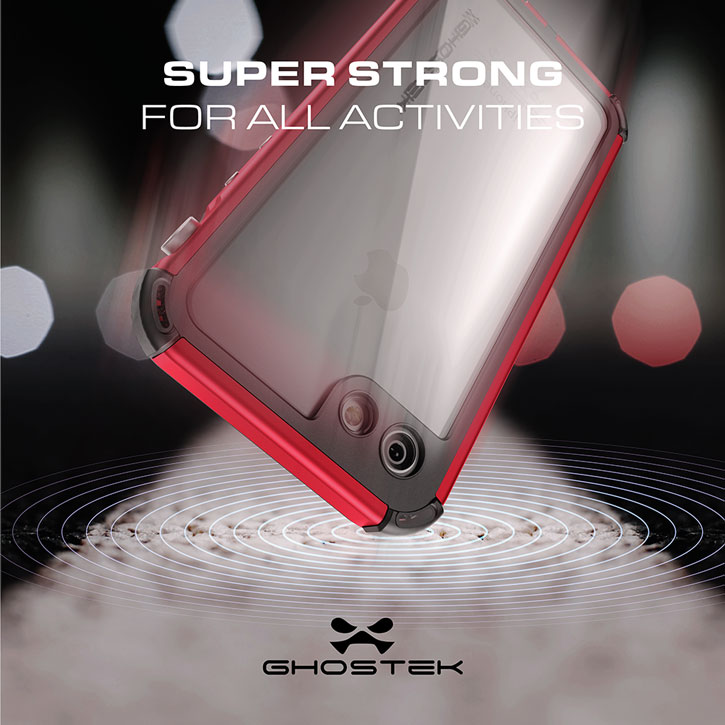 Ghostek Atomic 3.0 iPhone 7 Waterproof Tough Case - Red