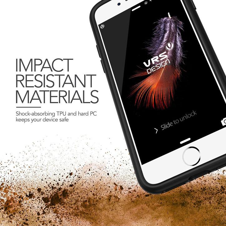 VRS Design Damda Glide iPhone 7 Case - Steel Blue
