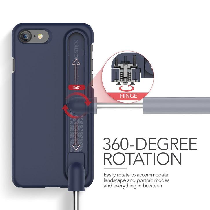 vrs design cue stick iphone 7 selfie case night blue. Black Bedroom Furniture Sets. Home Design Ideas