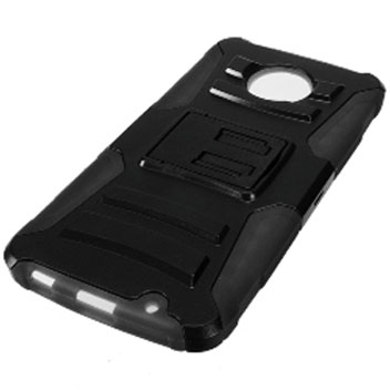 Zizo Robo Combo Motorola Moto Z Force Tough Case & Belt Clip - Black