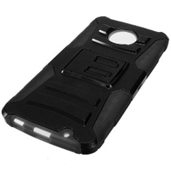 Zizo Robo Combo Motorola Moto Z Force Tough Case & Belt Clip - Black