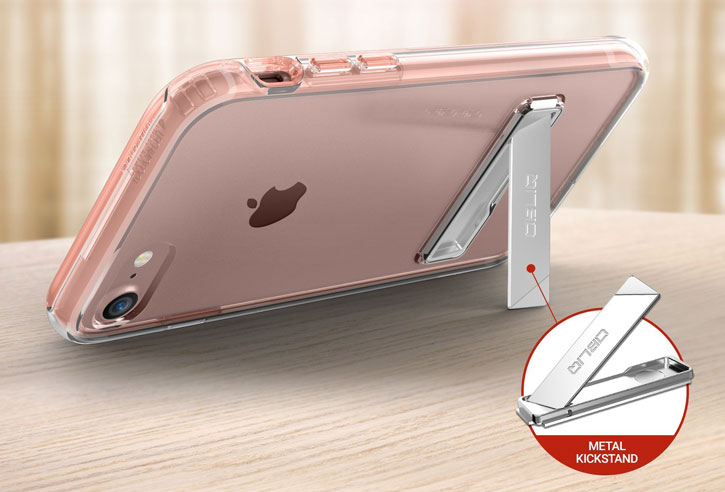 Obliq Naked Shield iPhone 7 Case - Rose Gold