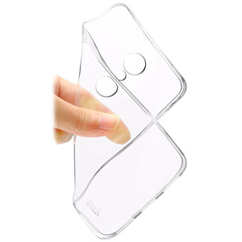 IMAK ZTE Axon 7 Shell Case - 100% Clear