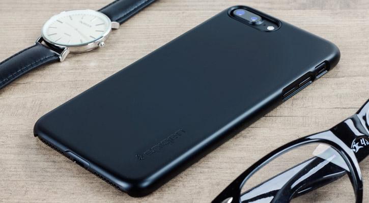 Spigen Thin Fit iPhone 7 Plus Shell Case - Black