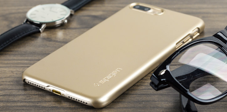 Spigen Thin Fit iPhone 7 Plus Shell Case - Champagne Gold
