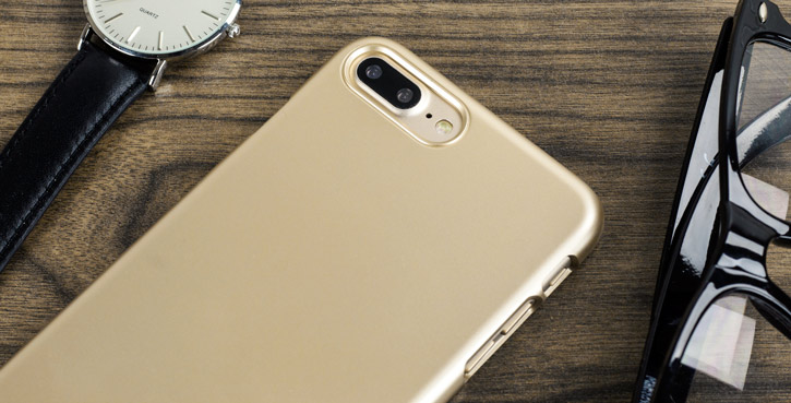 Spigen Thin Fit iPhone 7 Plus Shell Case - Champagne Gold