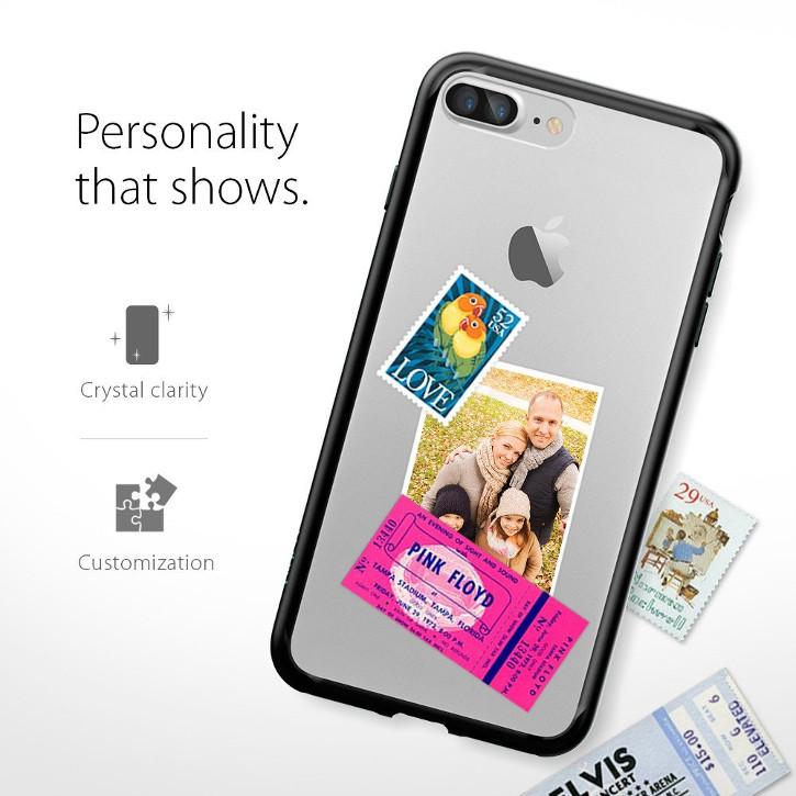 Spigen Ultra Hybrid iPhone 7 Plus Bumper Case - Black