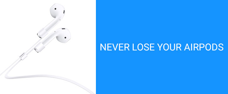 Spigen AirPods iPhone 7 / 7 Plus Strap - White