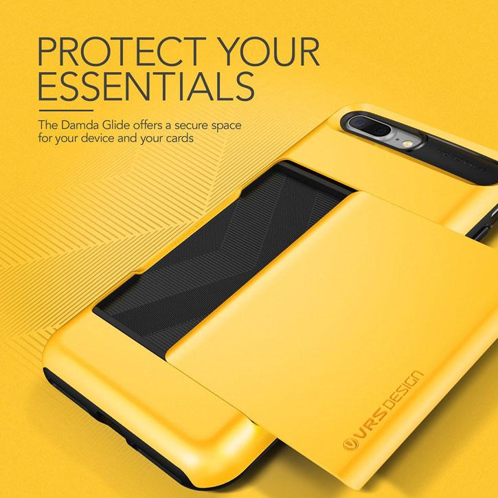 VRS Design Damda Glide iPhone 7 Plus Case - Indi Yellow