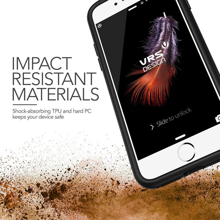 VRS Design Damda Glide iPhone 7 Plus Case - Steel Blue