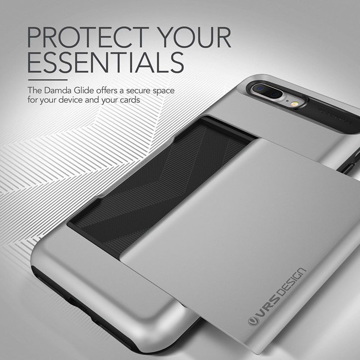 VRS Design Damda Glide iPhone 7 Plus Case - Light Silver