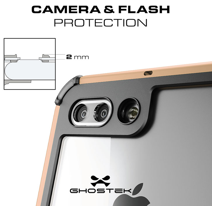 Ghostek Atomic 3.0 iPhone 7 Plus Waterproof Tough Case - Gold