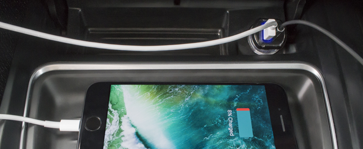 Scosche StrikeDrive Lightning to AUX Audio Converter & Car Charger
