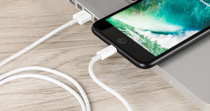 iPhone 7 / 7 Plus Lightning to USB Charging Cable - White