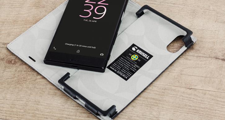 Krusell Malmo Sony Xperia XZ Folio Case - Black