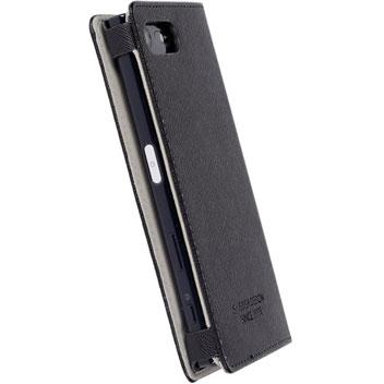 Krusell Malmo Sony Xperia X Compact Folio Case - Black