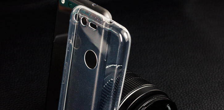 Olixar Ultra-Thin Google Pixel Gel Case - 100% Clear