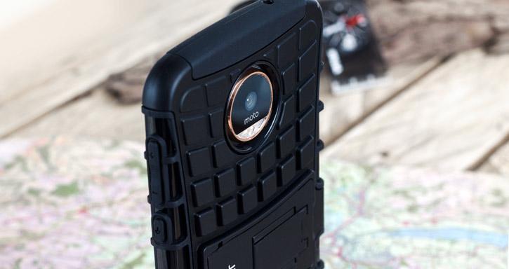 Olixar ArmourDillo Motorola Moto Z Protective Case - Black