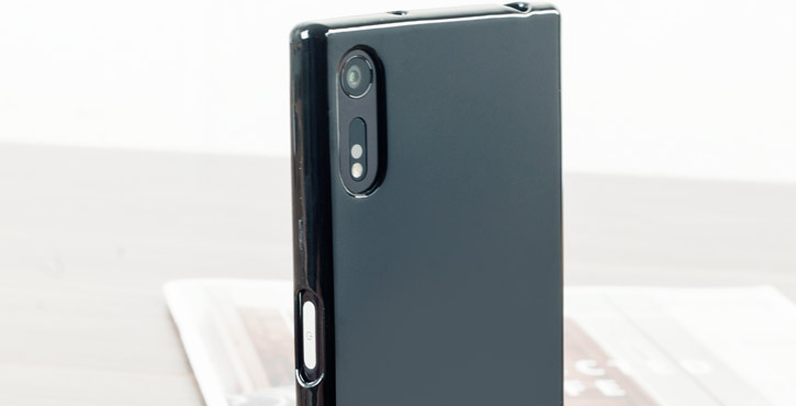 Olixar FlexiShield Sony Xperia XZ Gel Case - Solid Black