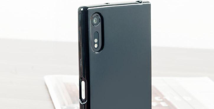 Olixar FlexiShield Sony Xperia XZ Gel Case - Solid Black