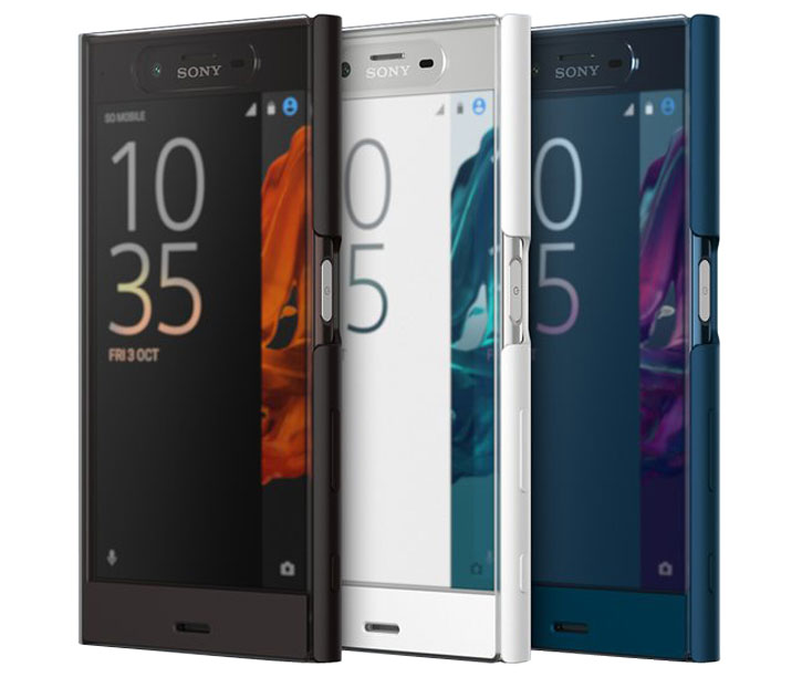 Official Sony Xperia XZ Style Cover Touch Case - Blue