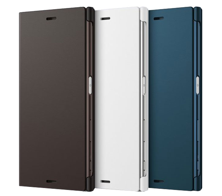 Official Sony Xperia XZ Style Cover Stand Case - Black