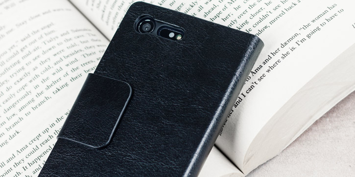Olixar Leather-Style Sony Xperia X Compact Wallet Case - Black