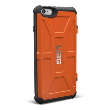 UAG Trooper iPhone 6S Plus / 6 Plus Protective Wallet Case - Orange