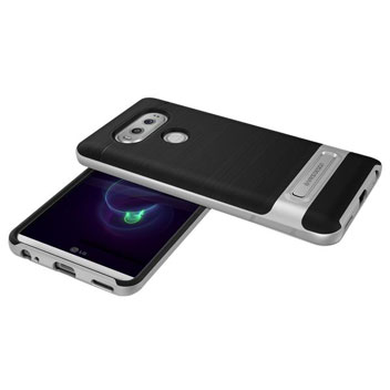 VRS Design High Pro Shield LG V20 Case - Satin Silver