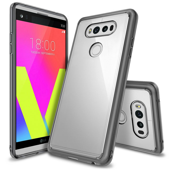 Rearth Ringke Fusion LG V20 Case - Smoke Black