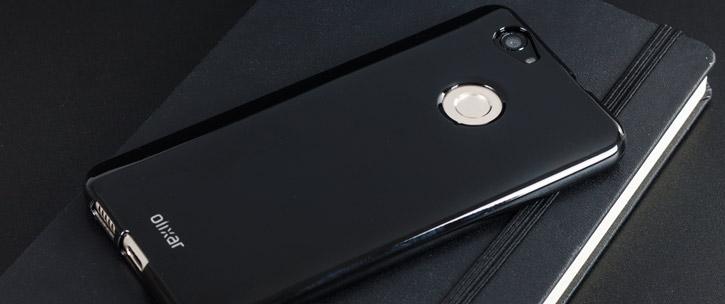 Olixar FlexiShield Huawei Nova Gel Case - Black