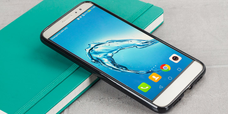 Olixar FlexiShield Huawei Nova Plus Gel Case - Black