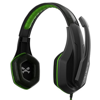 Ghostek Hero Series PC Gaming Headset - Black / Green