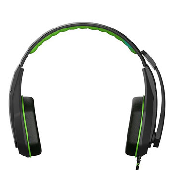 Auriculares Ghostek Hero Series PC Gaming - Negros/ Verdes