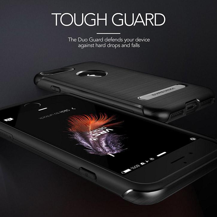 Coque iPhone 7 VRS Design Duo Guard – Noire