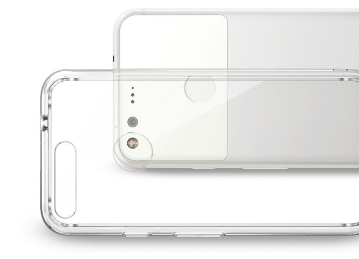 Rearth Ringke Fusion Google Pixel Case - Clear