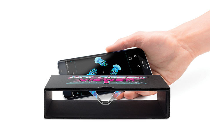 Luckies Universal Smartphone Hologram Viewer - Black