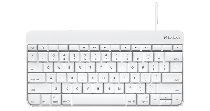 Logitech Wired iPhone / iPad Keyboard
