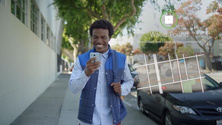 Tile Slim Bluetooth Tracker Device - White