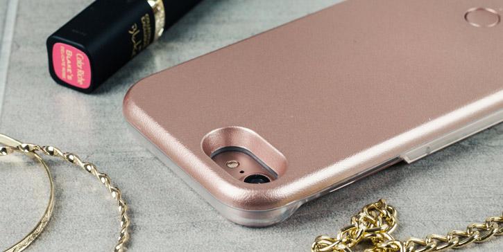 Casu iPhone 7 Selfie LED Light Case - Rose Gold