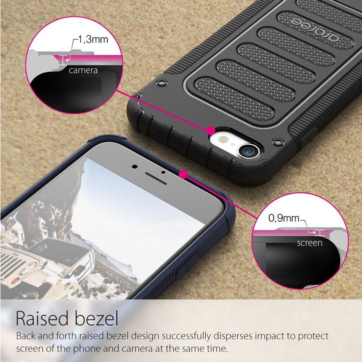 Araree Wrangler Fit iPhone 7 Rugged Case - Black