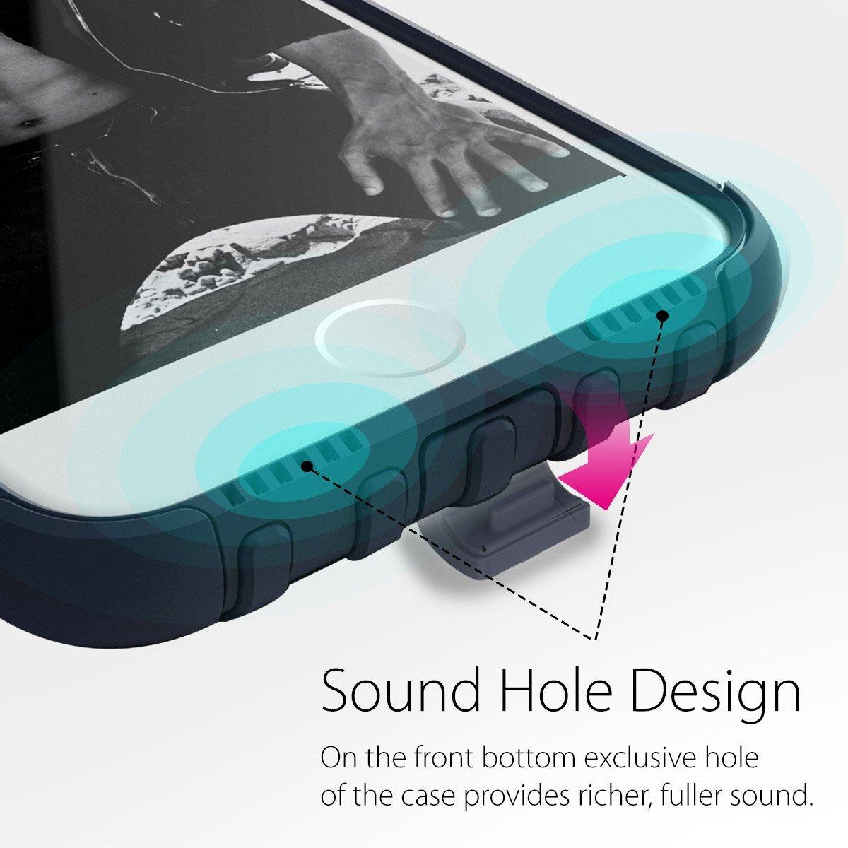 Araree Wrangle Force IPhone 7 Rugged Case - Gravity Blue