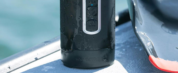 Scosche BoomBOTTLE H2O+ Outdoor Waterproof Bluetooth Speaker - Black