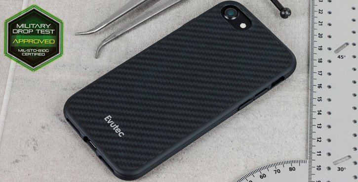 Evutec Samsung Galaxy S7 Edge Karbon SI LITE Case - Black