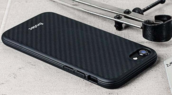 info for efa32 e2951 Evutec AER Karbon iPhone 7 Tough Case - Black